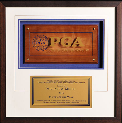 PGA Section Award