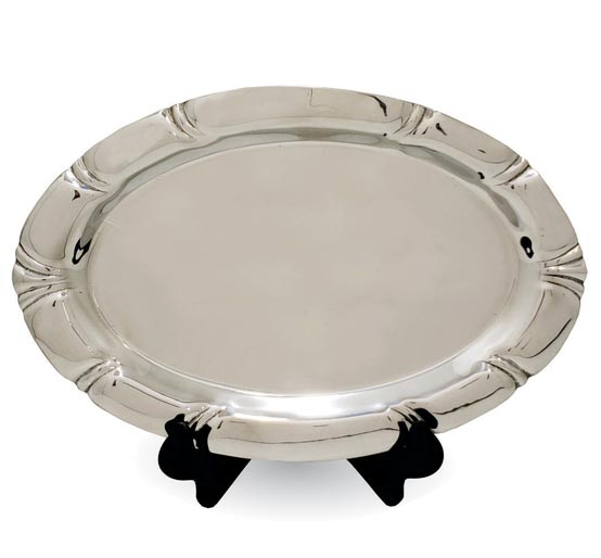 Scallop Oval Plate