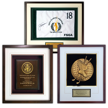 Shadowboxes and Framed Awards