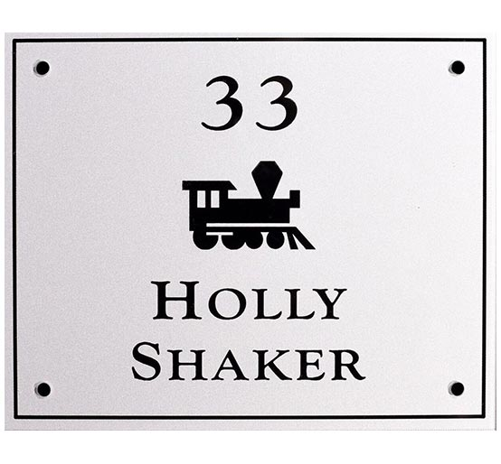 Locker Plate Engraving