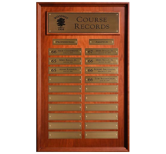 Course Record Panel